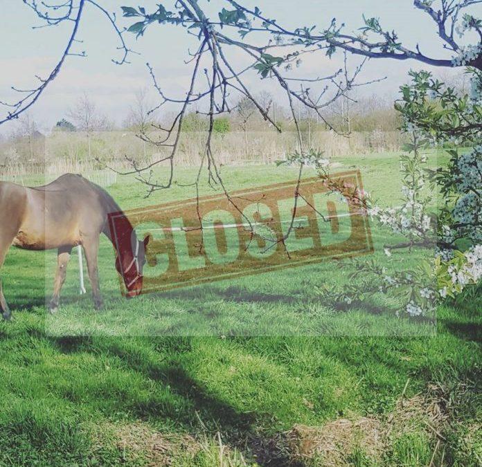 Het weideseizoen is gesloten.