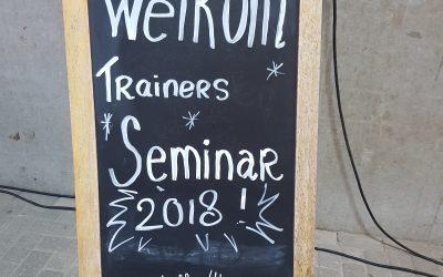 Ik was deelnemer aan het KNHS trainersseminar.