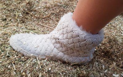 Pantoffels als je nieuwe stalschoenen.