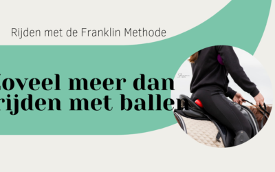Rijden met de Franklin methode is zoveel meer dan rijden met ballen!