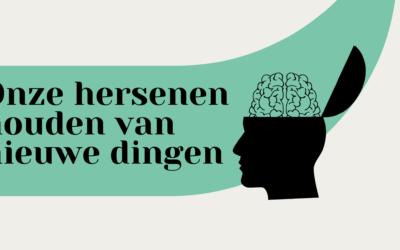 Onze hersenen houden van nieuwe dingen.