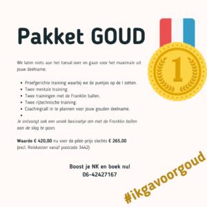 NK Boost pakket Goud
