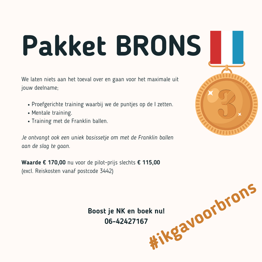NK Boost pakket Brons